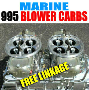 King Demon 9627020bm 995 Marine Gas Supercharger 4500 Blower Carbs Free Linkage
