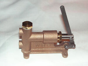 Live Steam Manually operated Boiler Feed Pump New Train Tool Usa