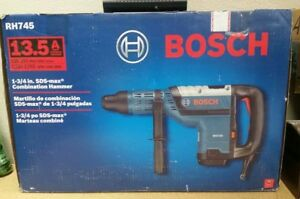 New Bosch Rh745 1 3 4 Sds max Rotary Combination Hammer