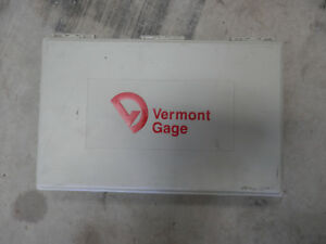 190pc Vermont Gage 101200400 Class Zz Pin Gages Range 0610 2500 Gauges