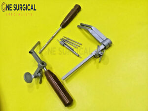Caspar Vertebral Body Distraction Left Set Veterinary Orthopedic Instrument