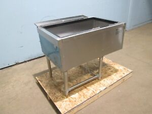 eagle Hd Commercial nsf Under Counter Bartender 8 Lines Cold Plate Ice Bin