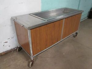 atlas Metal Wcm 4 Hd Commercial Refrigerated 4 Pans 75 w Cold Food salad Bar