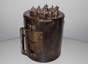 Antique Ge Current Transformer Instrument Type P2 For Electric Motor General