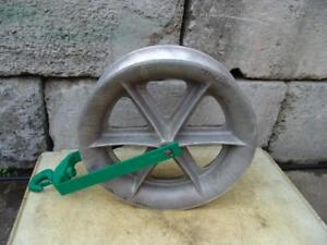 Greenlee 8024 8000 Lbs 24 Inch Sheave For Tugger Puller Nice Shape 3