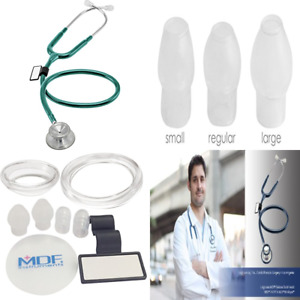 Acoustica Deluxe Lightweight Dual Head Stethoscope Free Parts For Life