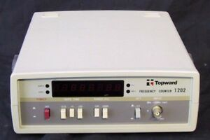 Topward 1202 Frequency Counter Digital
