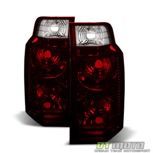 Dark Red 2006 2010 Jeep Commander Tail Lights Lamps Aftermarket Rear Left Right