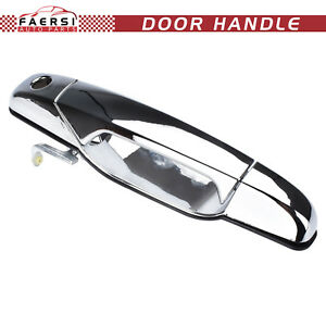 Chrome Outside Exterior Door Handle Front Left Driver Side For Chevy Pickup