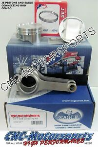Je Pistons Eagle Rods Combo Fits Nissan 1997 07 Sr20ve vet 88mm 12 5 1
