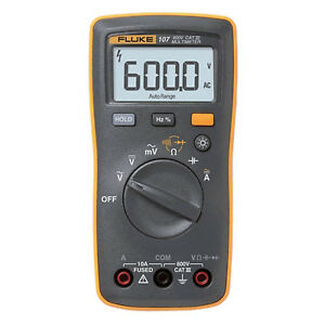 Digital Tester Fluke 107 Handheld Digital Multi Meter Detector
