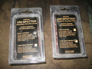 Genuine Uni Spotter Welding Studs 1001 Flexpert 1002 Heavyweight