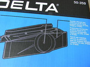 Delta 50 359 12 Planer Dust Hood Fits Delta And Pc 1 23