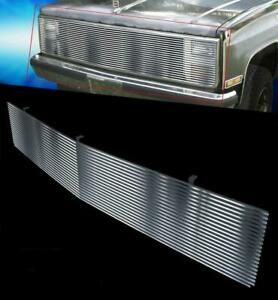 Billet Aluminum Grille Fits 81 87 Chevy Gmc Pickup Suburban Blazer Jimmy