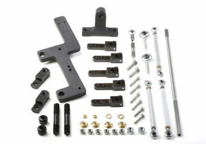 7166 Weiand Side Mounted Carb Linkage For 6 71 8 71 Supercharger Blower