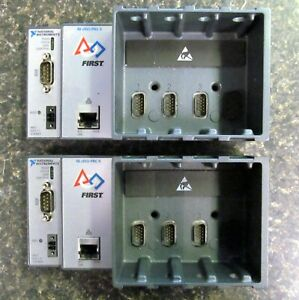 lot Of 2 National Instruments Ni Crio frc Ii 4 slot Chassis