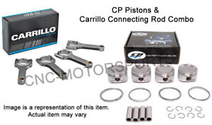 Fits Acura Honda B16a 11 1 1 Cp Piston With Carrillo Connecting Rods Combo 81mm