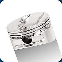 232509 Je Nitrous Series Dome Pistons 383 Sb Chevy 4 030 Bore 12 2 1 Compression