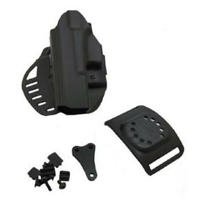 Hogue 52117 Powerspeed Pancake Holster Lh Fits For Glock 17 22 31 37