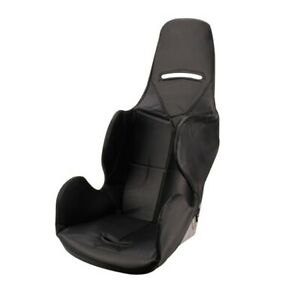 Safety Racing Budget Aluminum Stock Car Seat W Black Upholstery 14 Inch Wide