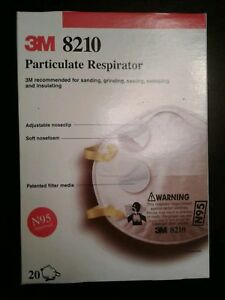 3m Particulate Respirator 8210 8 Boxes Of 20