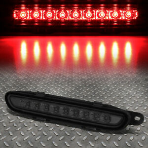 Full Led For 06 10 Dodge Charger Trunk Lid Third 3rd Tail Brake Light Smoked