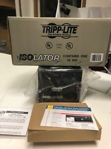 Tripp Lite Is500 4 outlet Plug Isolation Transformer Brand New In Box