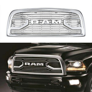 Dodge Ram 2010 2019 Front Grill Replacement New Oem Chrome fits 2500 3500