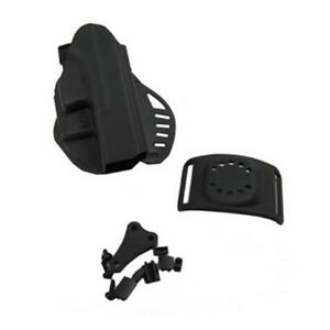 Hogue 52017 Powerspeed Paddle Holster Rh Fits For Glock 17 22 31 37 Black