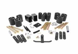 Rough Country 3 0 Body Lift Kit For Jeep Wrangler Yj 4wd Rc611