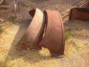 Ford Model T Rear Fenders Touring Roadster 1917 1925 Rat Rod Ready Rough