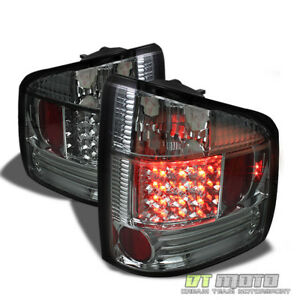 Smoked 94 04 Chevy S10 Gmc Sonoma Led Perform Tail Lights Left Right
