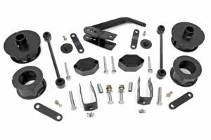 Rough Country 2 5 Series Ii Lift Kit 07 18 Jeep Wrangler Unlimited Jk 4wd