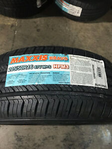 4 New 205 50 16 Maxxis Bravo Hp M3 Tires