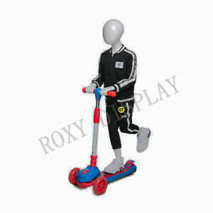 Egghead Boy Sport Mannequin Scooter Riding Pose mz hb k01