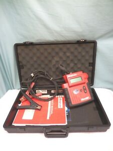 Snap on Microvat Elite Battery Tester Electrical System Eecs304 Hard Case 8316s