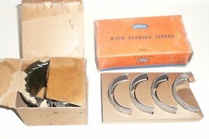 39 48 Ford Mercury M Br Set For Line Bored Blocks 015 O S Nos Flathead 40 41 42