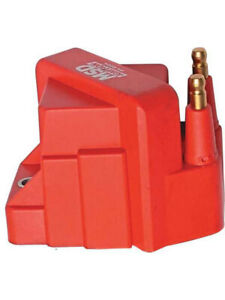 Msd Ignition Coil Dis Performance Replacement Square Epoxy 40 000v Gm 8224