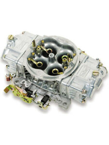 Holley 4150 Hp Supercharger Carburettor Cfm 750 Square Bore Silver 0 80576s