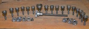 South Bend Lathe Drawbar 13 24 Step Collet Chucks Closer Machinists Tooling