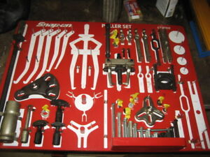 Snap on Cj2000 Master Puller Set Tool Board Box incomplete Local Pick up Only