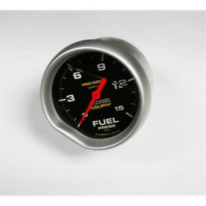 Garage Sale Auto Meter Liquid Filled Fuel Pressure Gauge 1 15 Psi