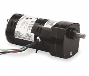 Dayton 2h600 Ac Gearmotor 115v Gear Motor 33 Rpm 1 10 Hp Parallel 49 1 Ratio New