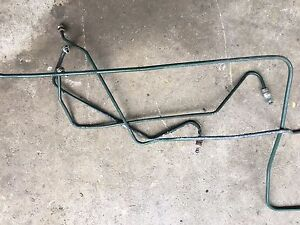 1988 Classic Saab 900 Spg Turbo Hatchback Front Hydraulic Brake Line Set