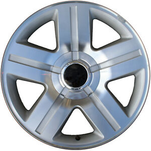 05291 Refinished Chevrolet Silverado 1500 2007 2011 20 Wheel Machined W Silver