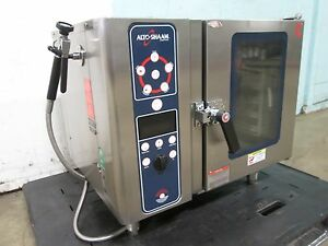 alto shaam hd Commercial 3ph Electric Combi Oven bakes dry steam Or Combination