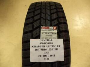 1 New General Arctic Lt 265 75 16 123 120r Tire 4504450000 Q9