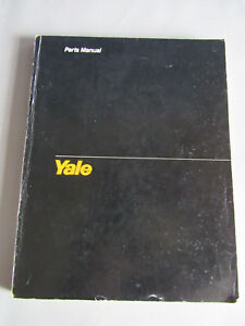 Guc Yale Erc ta Forklift Lift Truck Service Parts Manual Book Catalog Itd 1368