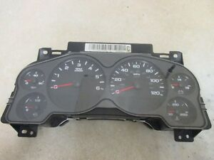 07 13 Chevy Silverado 2500 4x4 Gauge Cluster Instrument Panel Dash Oem 6147
