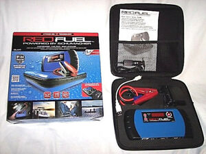 Schumacher Red Fuel Charger Phone Tablet Car Battery Charger Jump Start Marine